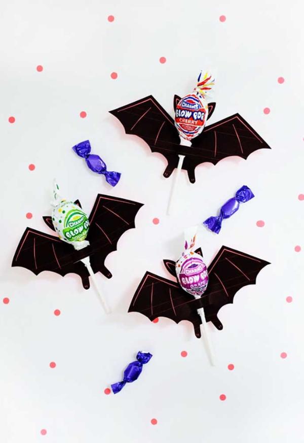 halloween deko ideen für die wand