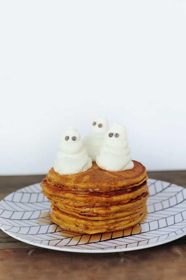 halloween deko pfannkuchen ideen