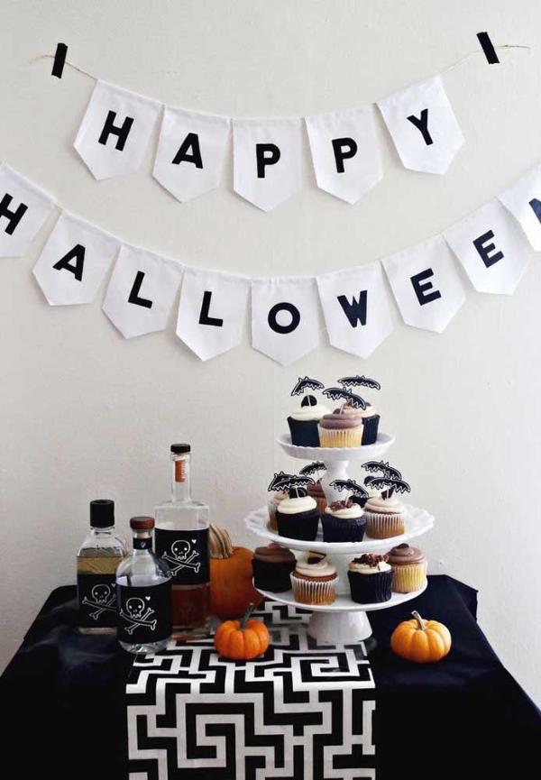 halloween deko sehr schöne festliche ideen
