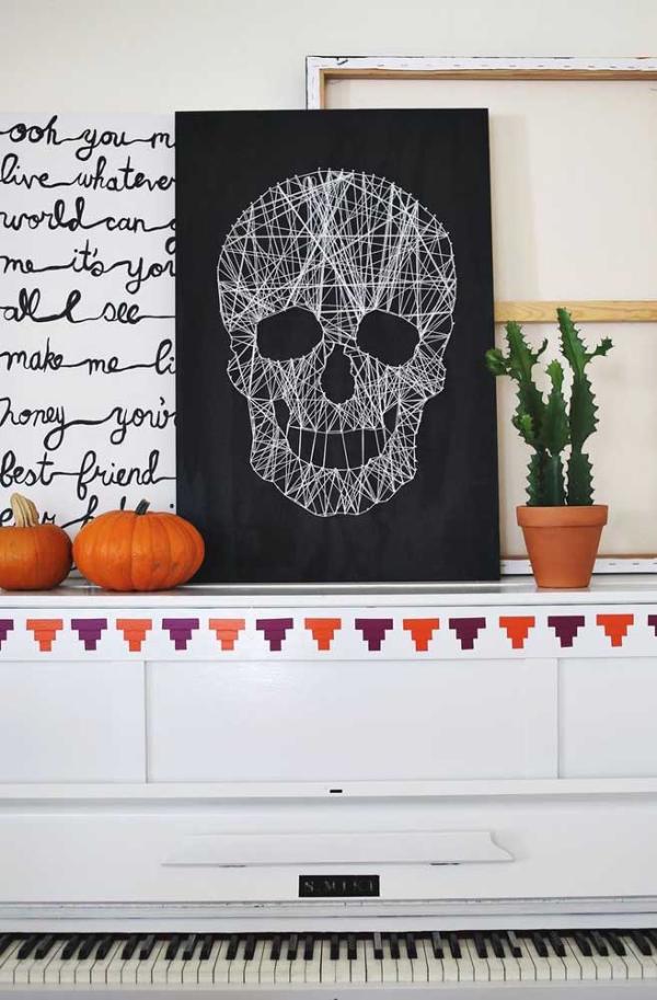 halloween deko vintage diy deko