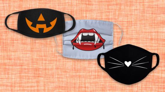 halloween motive mundschutzmasken covid 19