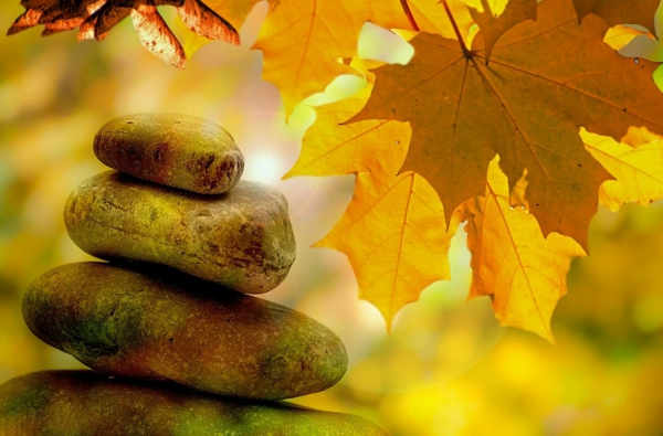 herbstblues vertreiben duch meditation