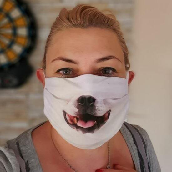 hund 3d mundschutzmasken halloween