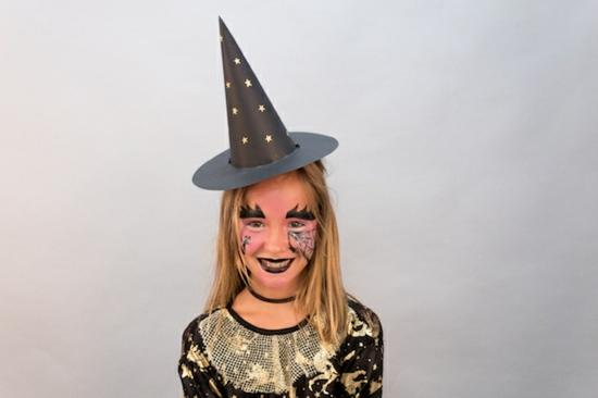 kleine hexe schminken halloween party