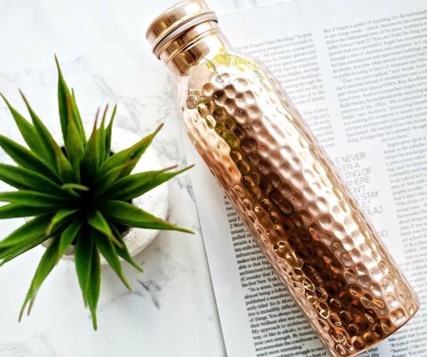 kupferflasche gesundes wasser vorteile