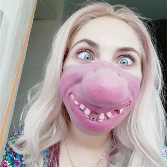 lustige halloween mundschutzmasken