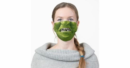 monster mundschutzmasken halloween 2020