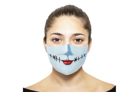 mundschutzmasken kostüm ideen halloween
