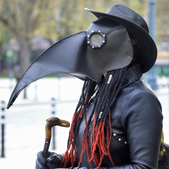 originelle gruselige mundschutzmasken ideen zu halloween