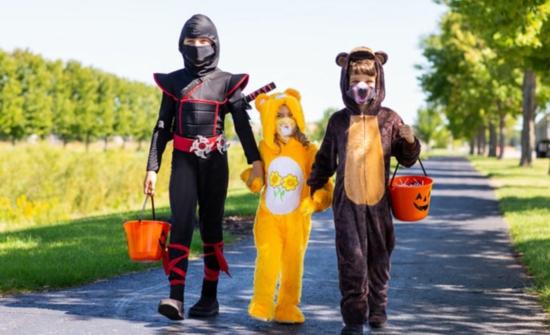 orignelle halloween kostüme mundschutzmasken