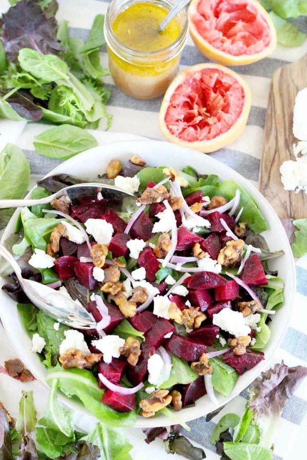 rote bete salat mit grapefruit gesund