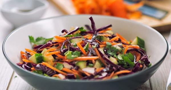 rotkohl gesund salat zubereiten