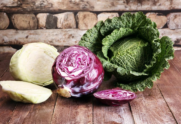 rotkohl grühnkohl gesundes gemüse