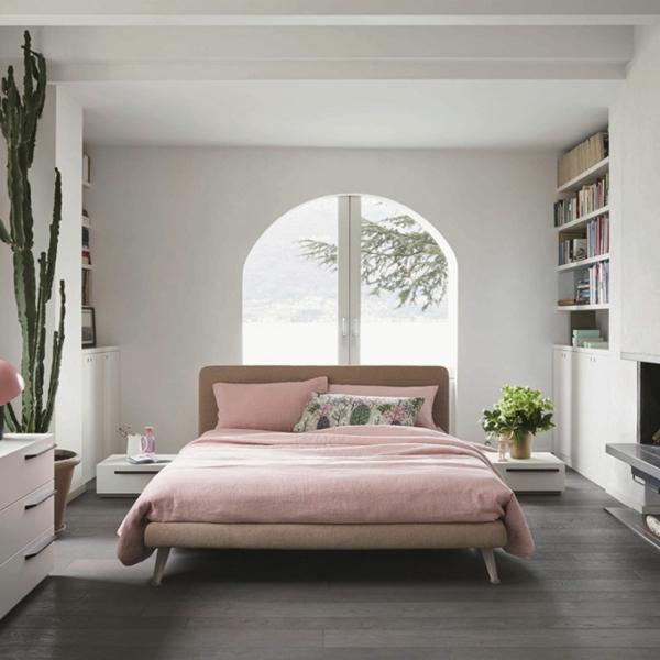 schöne bettwäsche pastellfarbe gästezimmer