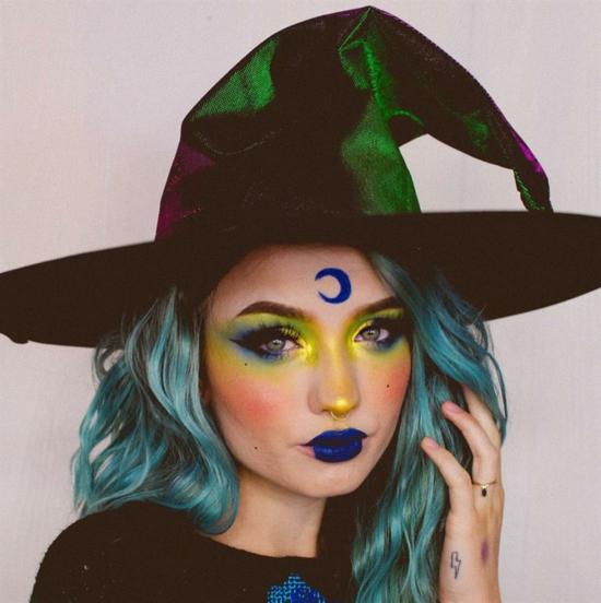 sexy hexe schminken halloween