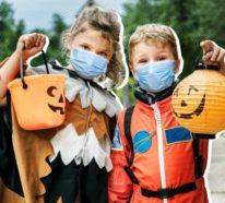 Mundschutzmasken zu Halloween – so feiert man das Gruselfest in Zeiten von Covid-19