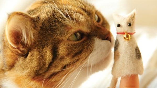 Basteln mit Katzenhaaren DIY Projekte mit Tierhaaren Anleitung