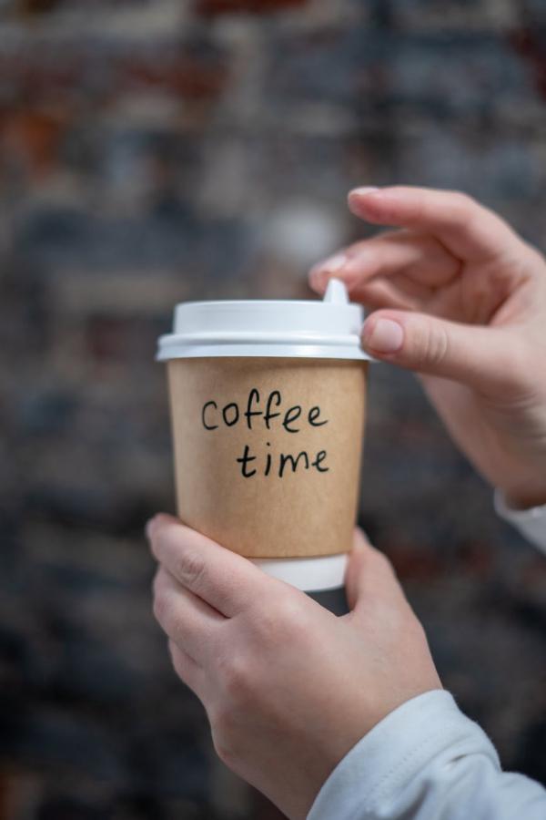 DIY Kaffeebecher to go So basteln Sie Ihren individuellen Becher coffee time zeit für kaffee