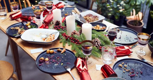 Dinner Cancelling Verzicht auf das Abendessen bis Weihnachten abnehmen der Versuch lohnt sich Esstisch Familientreffen