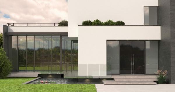 Haustür mit Seitenteil – Vor- und Nachteile, die Sie beim Kauf beachten sollten zeitgenössisch modern haus tür glas