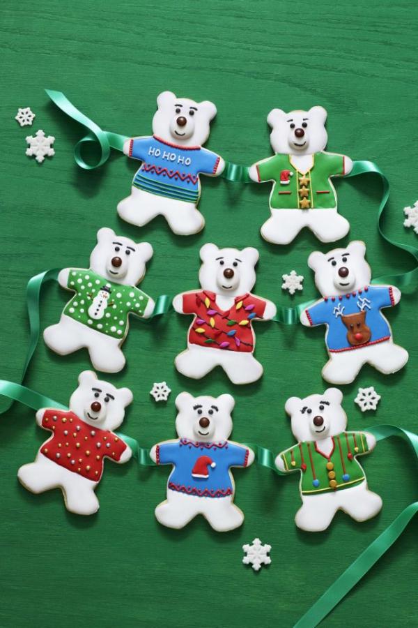 Köstliche Plätzchen Rezept Ideen für ein genussvolles Weihnachten bären deko weihnachten