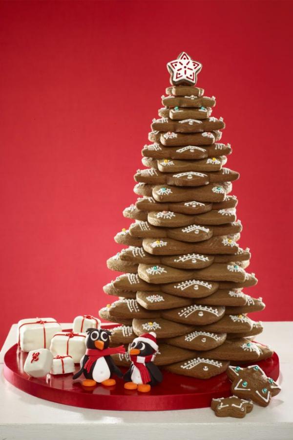 Köstliche Plätzchen Rezept Ideen für ein genussvolles Weihnachten kekse bäumchen glasur