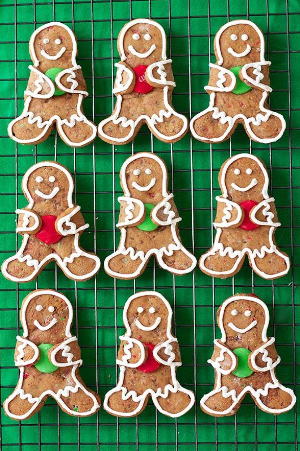 Köstliche Plätzchen Rezept Ideen für ein genussvolles Weihnachten lebkuchen männchen bonbons