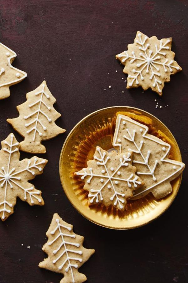 Köstliche Plätzchen Rezept Ideen für ein genussvolles Weihnachten minimalistische deko kekse