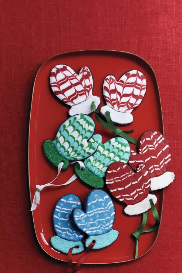 Köstliche Plätzchen Rezept Ideen für ein genussvolles Weihnachten mittens ornamente christbaum