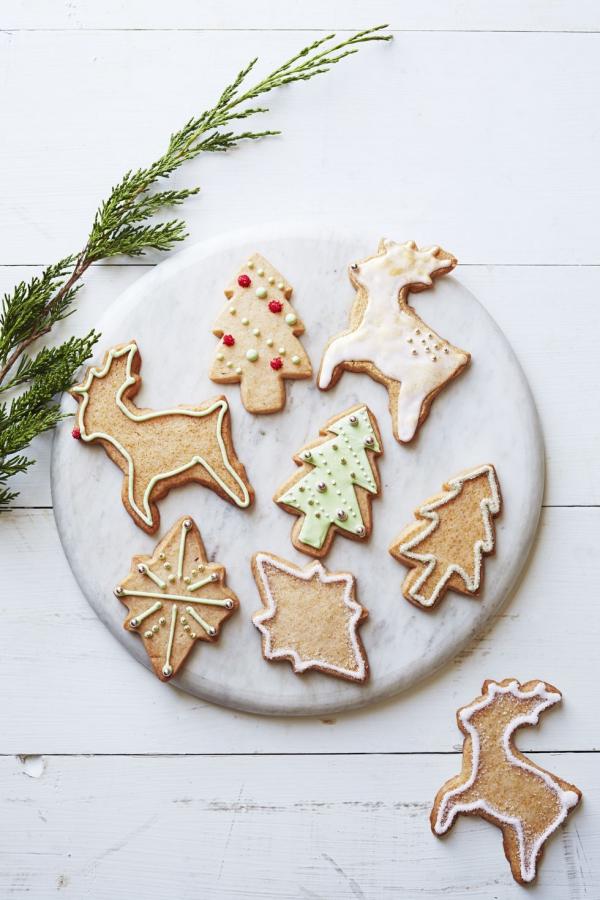 Köstliche Plätzchen Rezept Ideen für ein genussvolles Weihnachten ornamente rentiere bäumchen