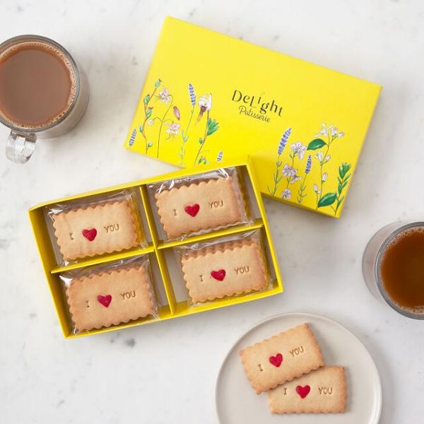 Liebliche und ausgefallene Geschenke für die beste Freundin kekse mit worten bff
