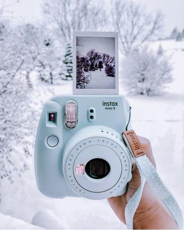Liebliche und ausgefallene Geschenke für die beste Freundin sofort kamera blau weihnachten