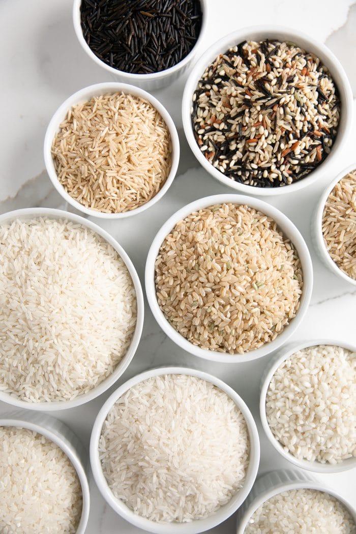 Reisdiät viele verschiedene Reissorten weißer Reis die populärste Sorte nicht die gesündeste