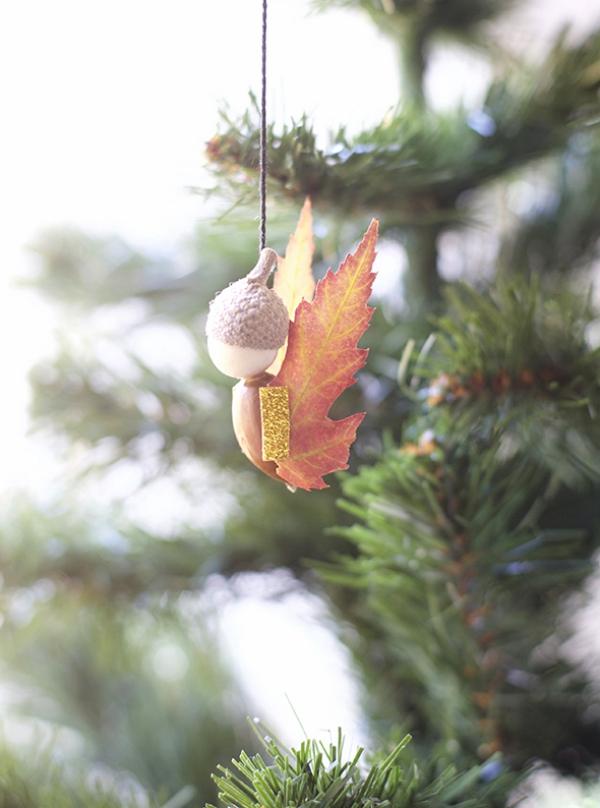 Schutzengel basteln mit Kindern zu Weihnachten – zauberhafte Ideen und Anleitung naturmaterialien engel blätter herbst