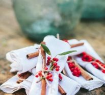 Serviettenringe basteln zu Weihnachten – Stilvolle Ideen und Anleitungen für eine festliche Tischdeko