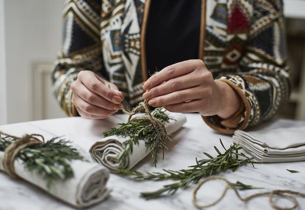 Serviettenringe basteln zu Weihnachten – Stilvolle Ideen und Anleitungen für eine festliche Tischdeko mit naturmaterialien basteln