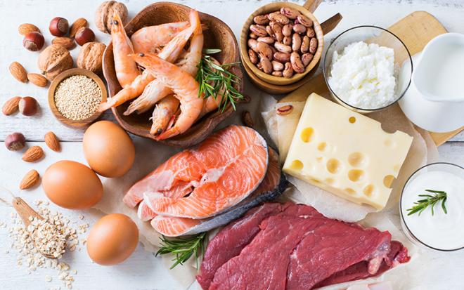 Stoffwechseldiät Easy-Body-System eiweißreiche Nahrung Milchprodukte Käse Fisch Shrimps Bohnen