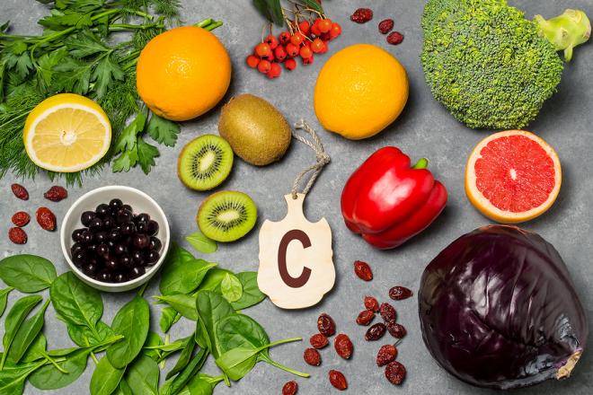 Stoffwechseldiät Easy-Body-System frisches Obst Gemüse viel Vitamin C enthalten
