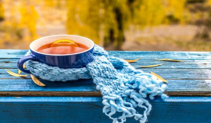 Tee selber machen wintertee weihnachtstee erkältungstee