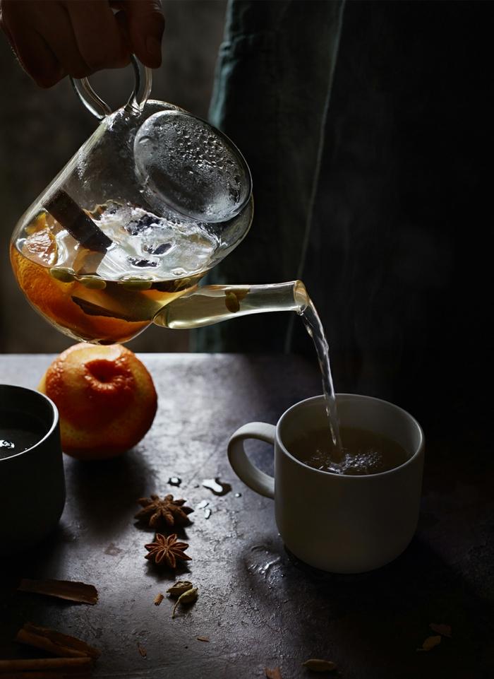 Tee selber machen wintertee weihnachtstee kardamon