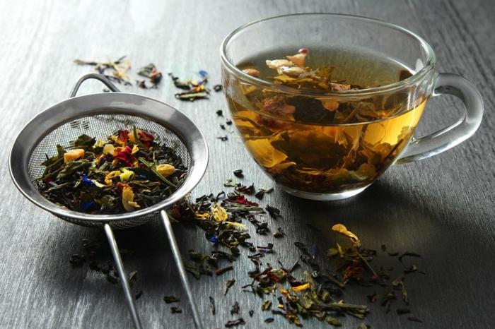 Tee selber machen wintertee weihnachtstee kräutertee