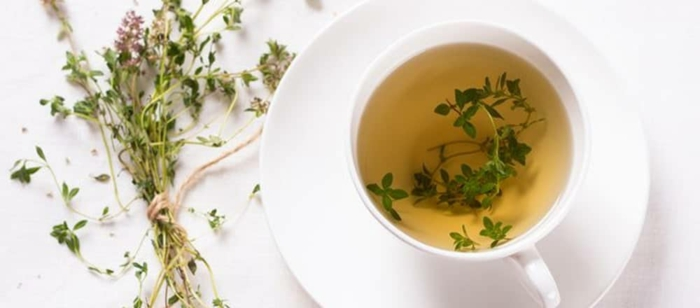 Tee selber machen wintertee weihnachtstee thymian