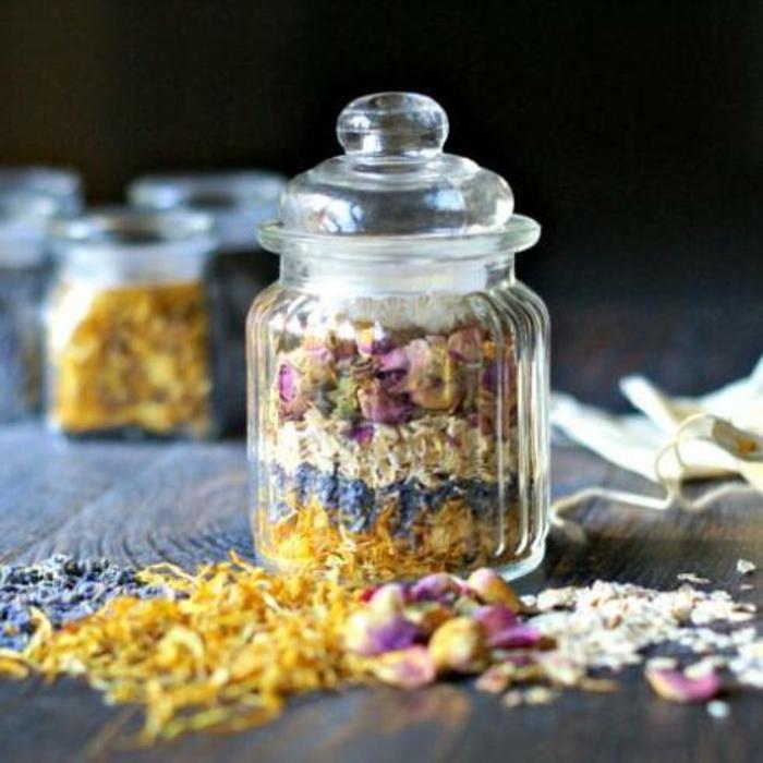 Tee selber machen wintertee weihnachtstee'oreagano tee verschenken im glas
