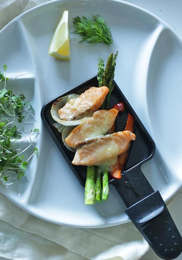Traditionelle und köstliche Raclette Ideen fürs Pfännchen mit Tipps ideen mit fisch lachs