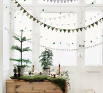 Weihnachtliche Fensterdeko sorgt für mehr festlichen Zauber zu Hause