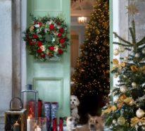 Weihnachtsdeko vor der Haustür – Ideen und Tipps für mehr festliche Stimmung