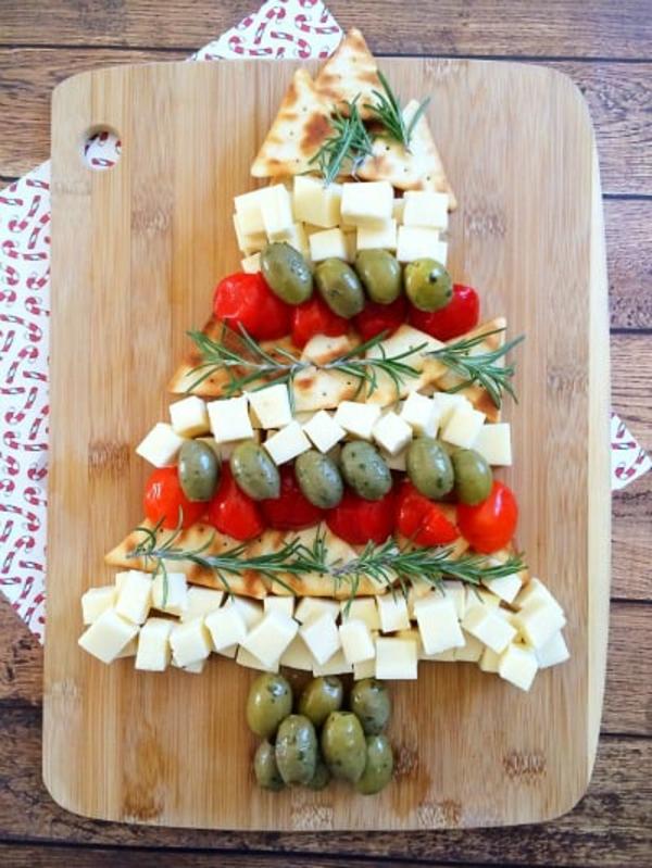 Weihnachtsmenü Ideen Weihnachtsfeier veranstalten Essen arrangieren