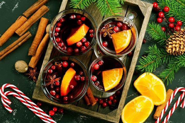 Weihnachtsmenü Ideen und Tipps Weihnachtsfeier Menü Glühwein