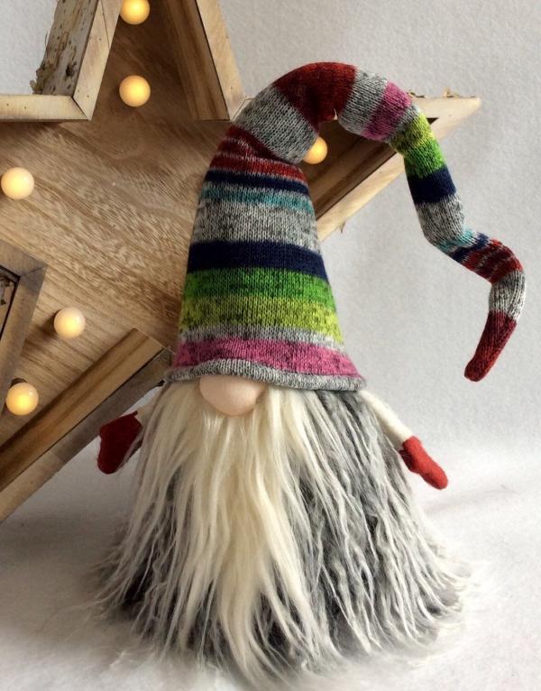 Weihnachtswichtel basteln – Ideen und Anleitung für eine fantastische Winterdeko bunte nisse tomte ideen anleitung diy