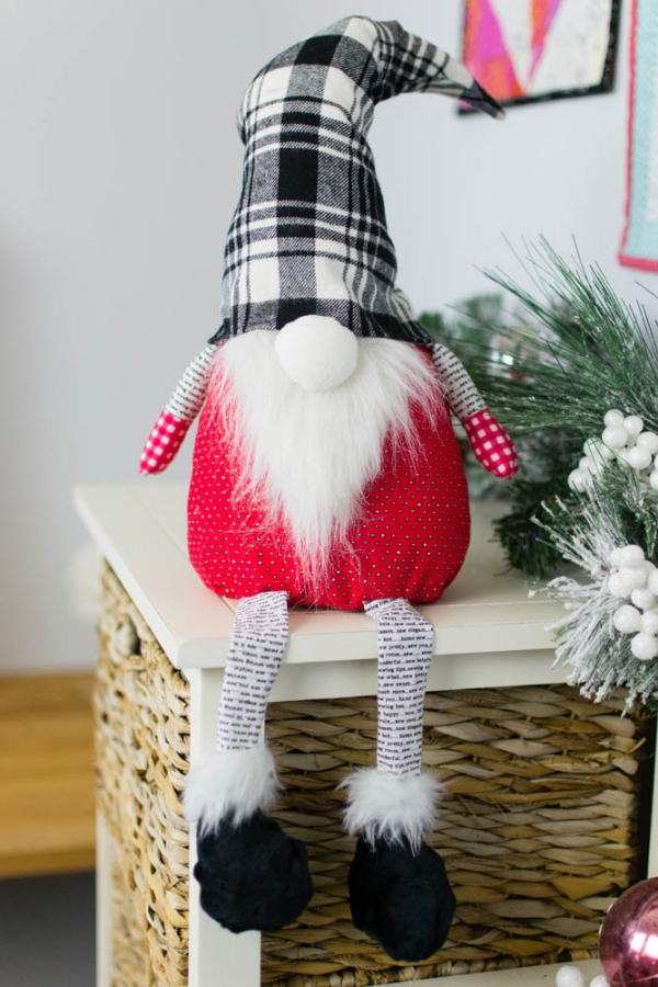 Weihnachtswichtel basteln – Ideen und Anleitung für eine fantastische Winterdeko tomte beine arme diy